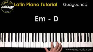 DRJASSMUSIC Latin Piano Tutorial - Guaguanco (Español)