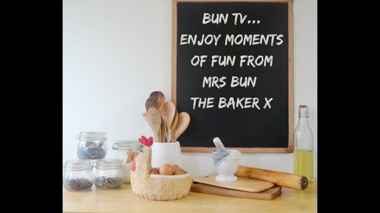 BunTv - Bun Fun with Mr Bun | BunBites | BunTv | Mrs Bun the Baker Cookery School