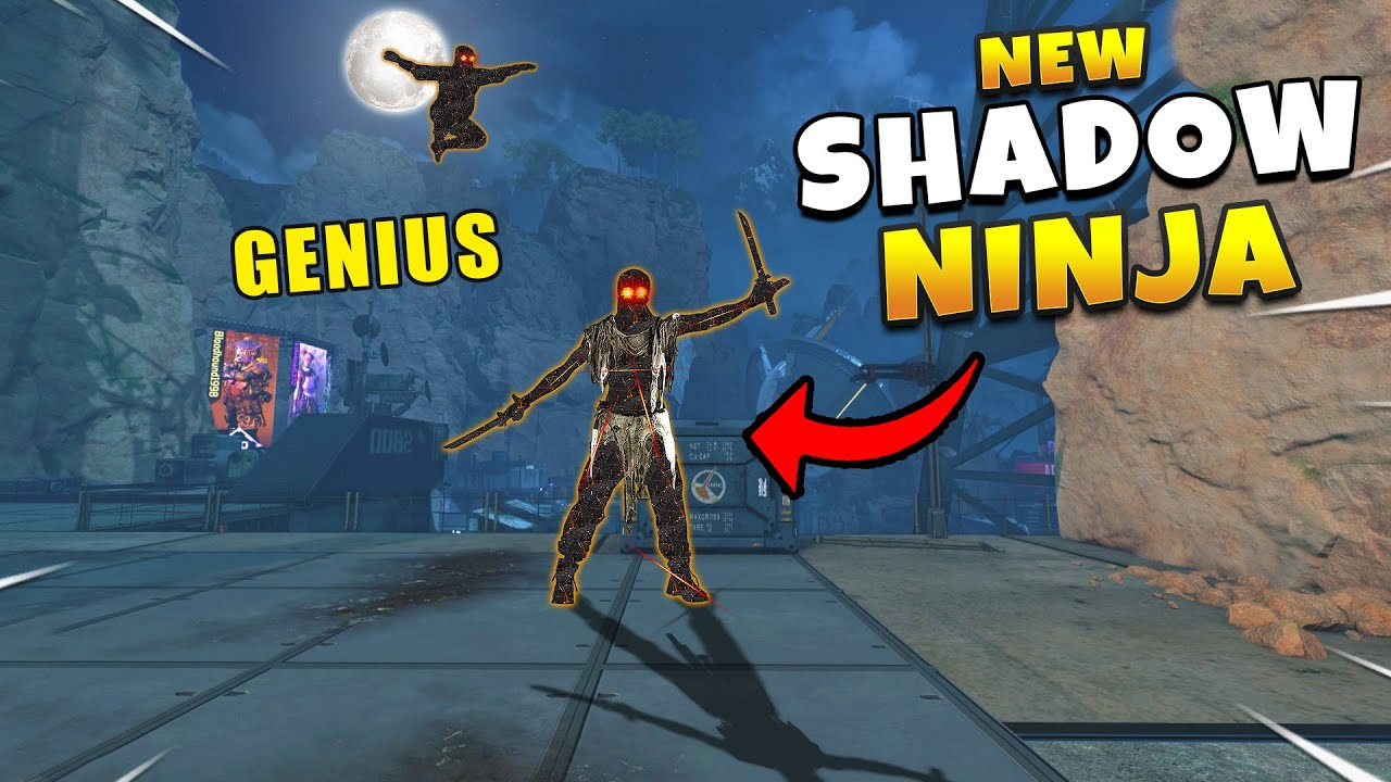 *NEW* PREDATOR Shadow Ninja Play Is Genius! - NEW Apex Legends Funny & Epic Moments #464