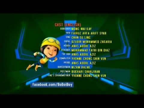 BoBoiBoy Hang on Tight Ending Credits
