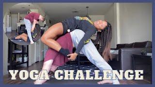 EXTREME YOGA CHALLENGE   COUPLES YOGA CHALLENGE
