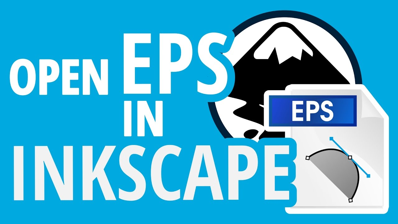 IMPORT EPS IN INKSCAPE ON WINDOWS | Open File Tutorial