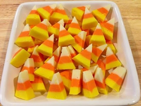 Candy Corn Fudge Video Easy Candy Corn Fudge - Only 2 Ingredients!