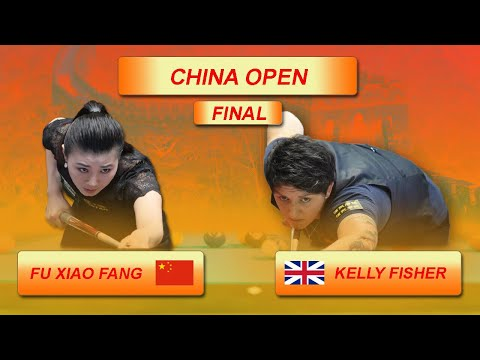 Kelly Fisher - Fu Xiao Fang | Final | China Open 2018