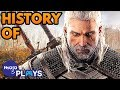 History of the Witcher Series: From Book To Game of the Year!