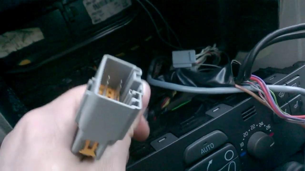 Volvo S60 V70 HU-803/850 radio upgrade tips (speaker upgrade tip in video  description) 2001-2009