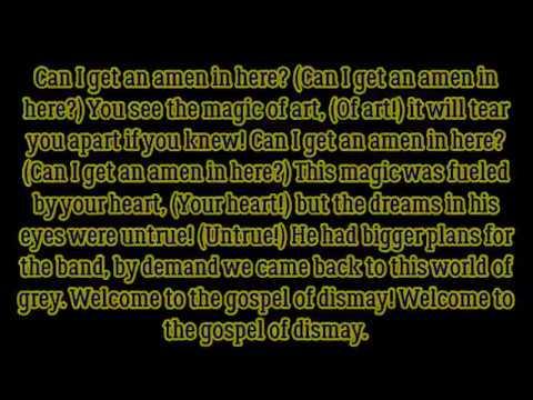 "DAGames ft. Azaeriah - ""Gospel Of Dismay (BATIM Chapter 2 Song)"" lyrics"