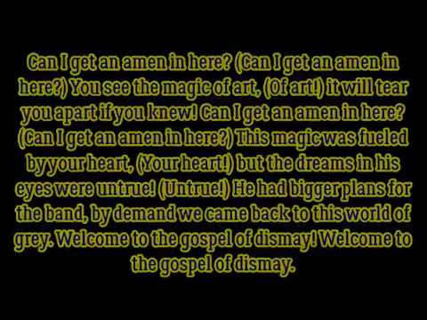 "DAGames ft. Azaeriah - ""Gospel Of Dismay (BATIM Chapter 2 Song)"" lyrics"