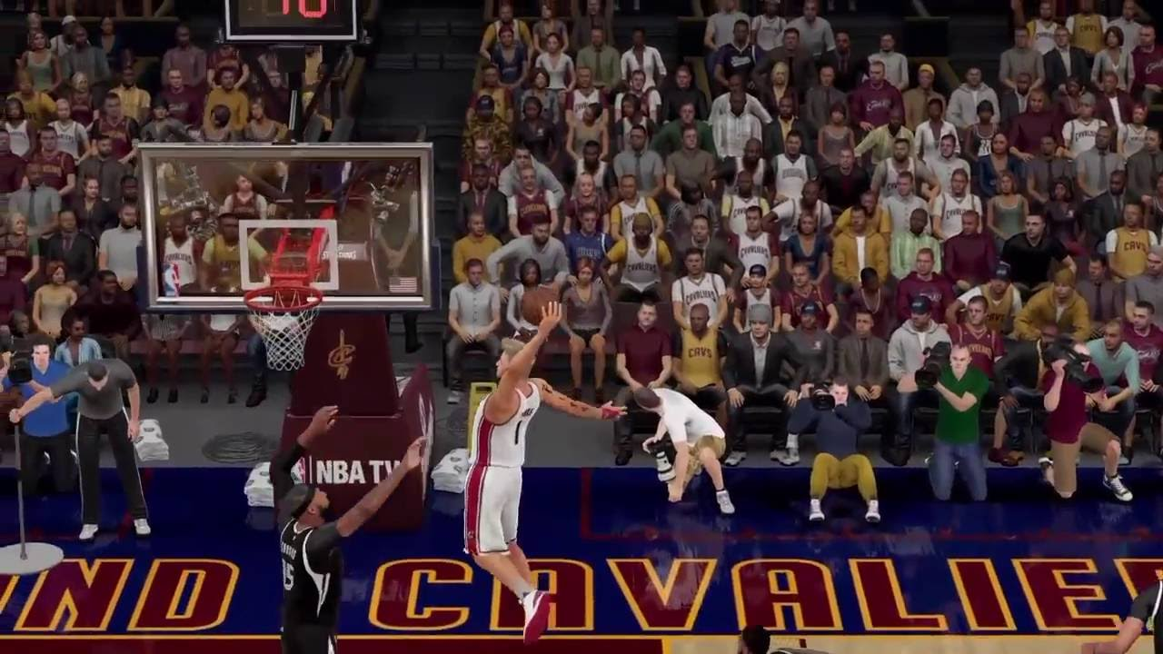 NBA 2K16 My Career- Fire Mixtape