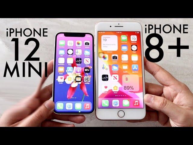 Iphone 12 Mini Vs Iphone 8 Plus Comparison Review Youtube