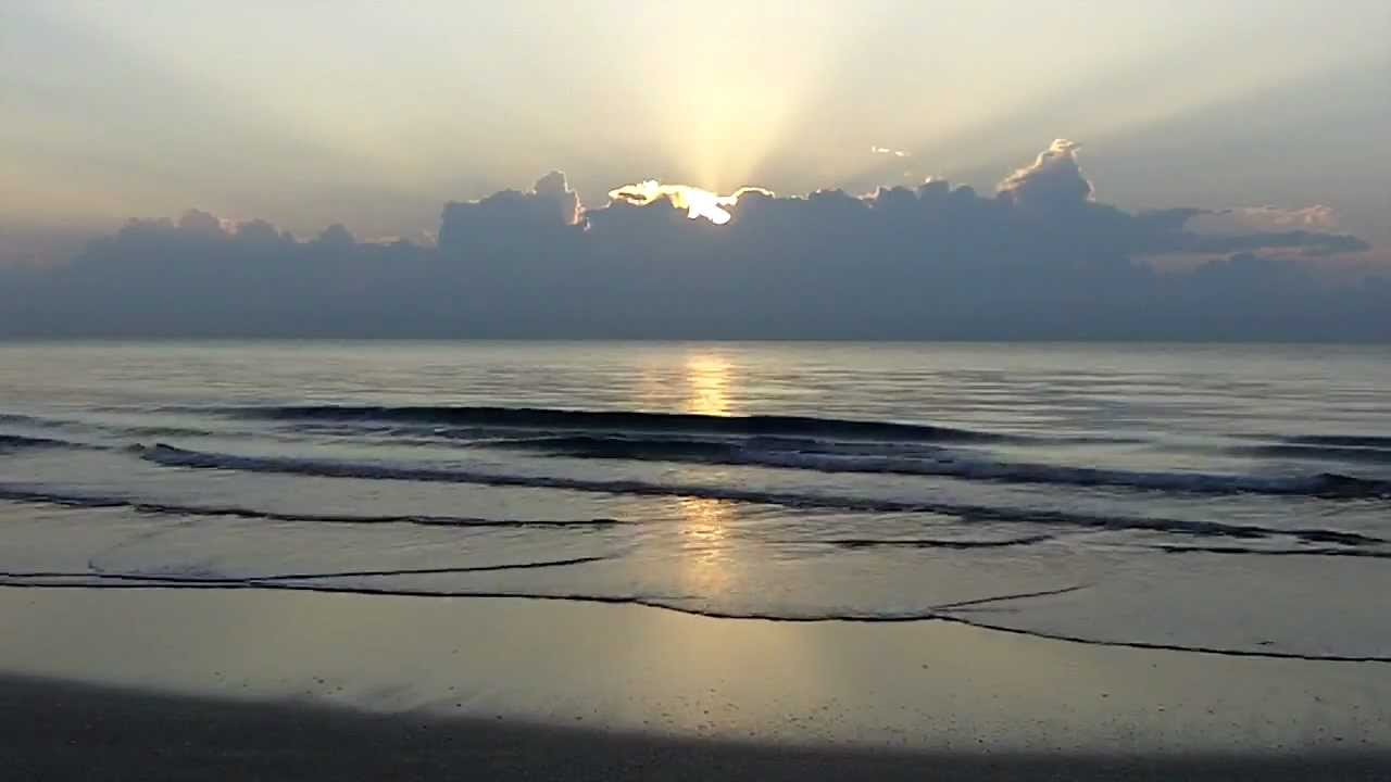 Good Morning Sunrise at Highland Beach Florida From