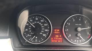 BMW 325i E90 218KM Acceleration 0-160 km/h Auto