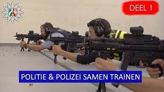 MP5 oefening  IBT samen met Duitse collega's | Politie Den Haag | Politievlogger JanWillem