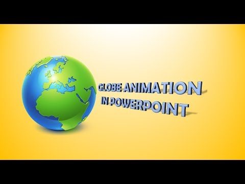 Globe animation in PowerPoint