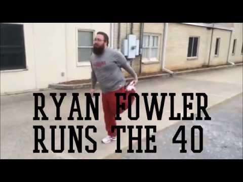 Ryan Fowler Runs Controversial 40-Yard Dash