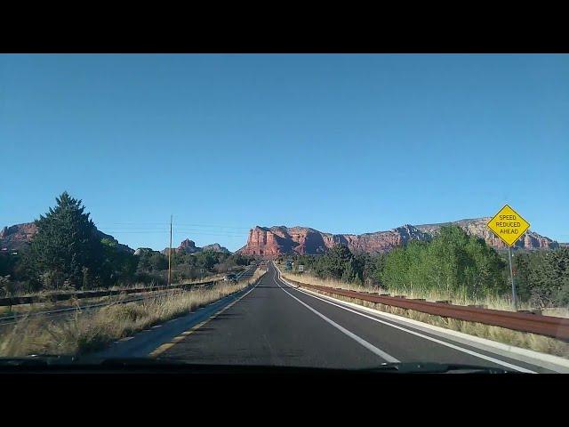 Most beautiful drive way going through red mountains Arizona. #arizona#redmountains