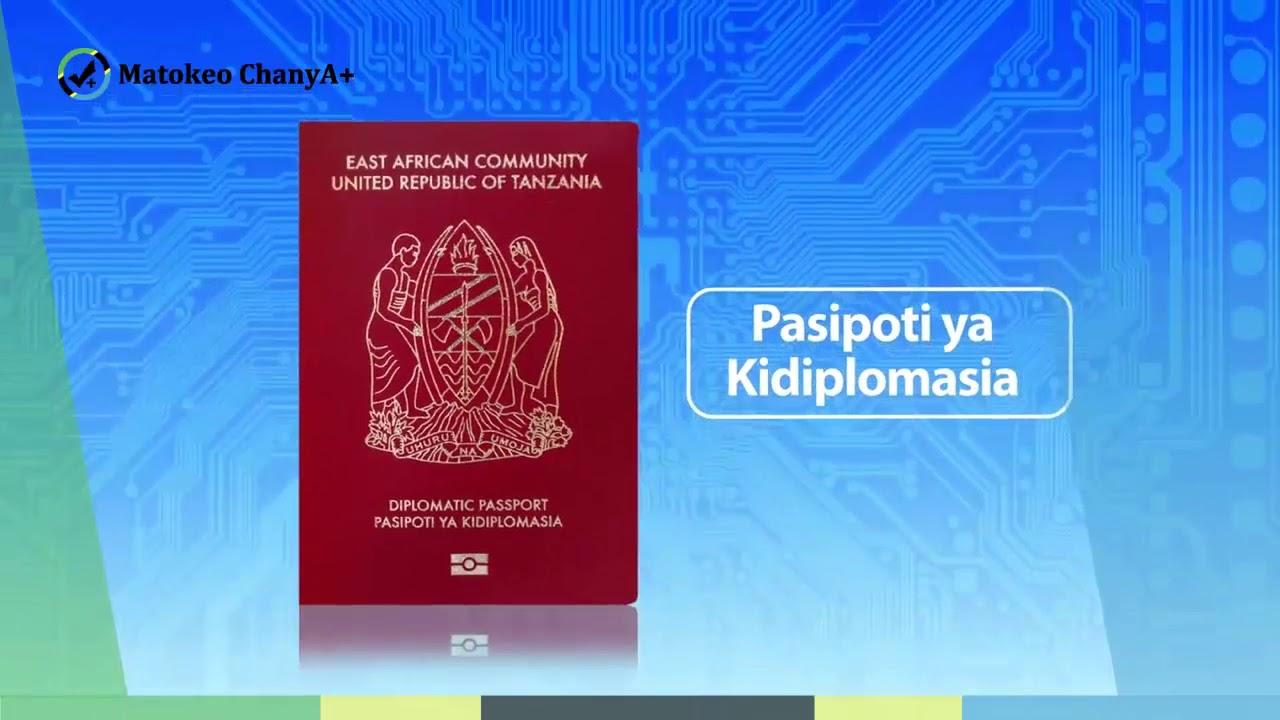 TANZANIA e-PASSPORT - MFUMO WA UHAMIAJI MTANDAO WA PASIPOTI MPYA YA  KIELEKTRONIKI