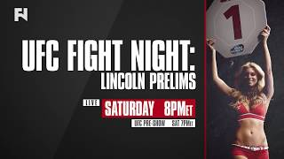 UFC Fight Night Lincoln Prelims, Pre & Post-Show LIVE Sat., Aug. 25 at 7p ET on FN Canada