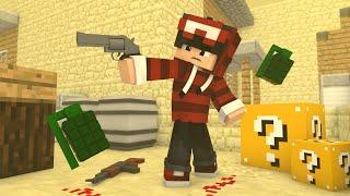 Minecraft - PIOR JOGADOR DE COUNTER-STRIKE ‹ ESCOLHA A PORTA › MINI-GAME (LUCKY BLOCK)