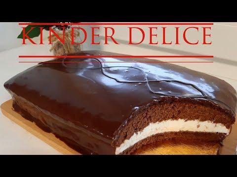 🍫Kinder Delice 🍫Пирожное ГИГАНТСКОЕ/готовим дома Киндер Делис