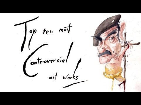 The Pretentious Show ep5 - Top ten controversial art works (re-upload)
