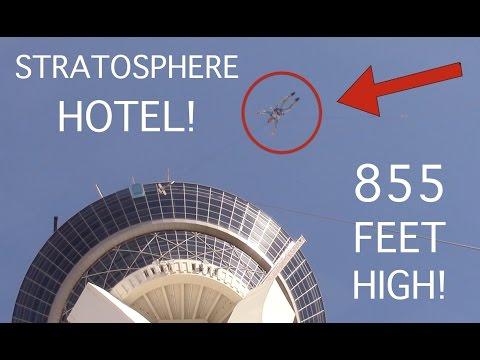 Stratosphere Sky Jump Full HD Experience Las Vegas