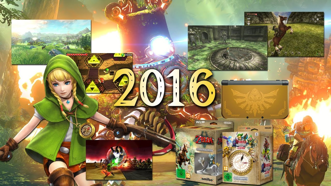 Zelda 2016 The 30th Anniversary