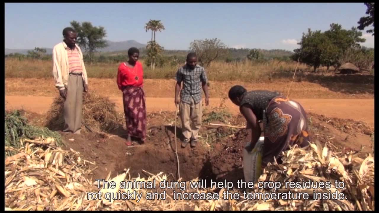 How to make compost manure at home in india