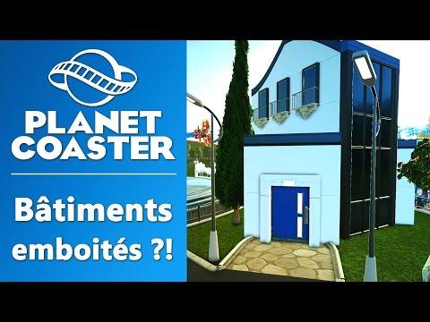 PLANET COASTER : Bâtiments emboités ?! | GAMEPLAY FR #8