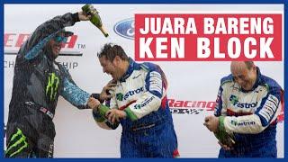 Rifat Sungkar Lawan Ken Block Di Rally America 2013 #throwback