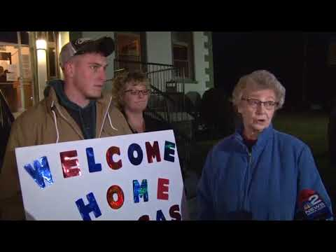 Rigas Returns Home To Coudersport, PA