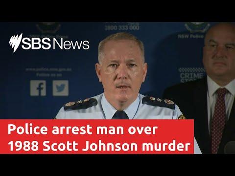 NSW Police Arrest Man Over 1988 Scott Johnson Murder