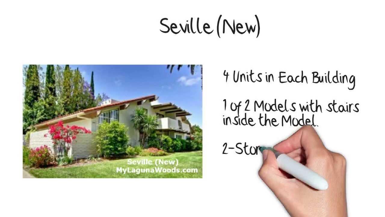 Seville (New) Model in Laguna Woods (Floor Plan) - YouTube