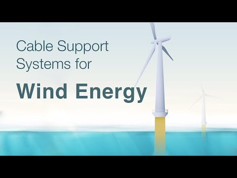 Cable Support Systems for Wind Energy