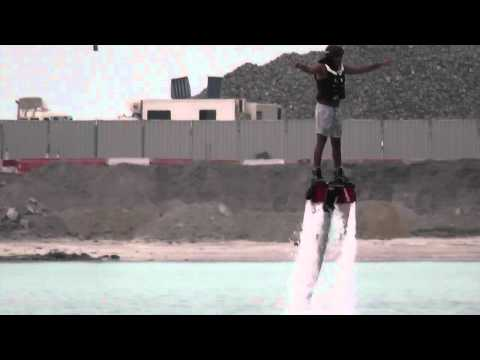 FLYBOARD COOL WATER JET SKI PACK DUBAI JUMEIRAH BEACH MARCH 2014
