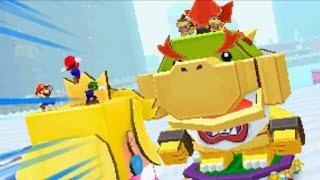 Mario & Luigi: Paper Jam - All Papercraft Boss Battles
