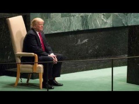 Trump pushes for fair trade during UN speech