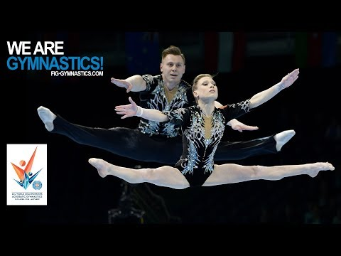 2018 Acrobatic Worlds, Antwerp (BEL) - Highlights MIXED PAIR FINAL - We Are Gymnastics !