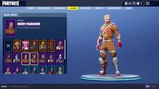 Ich verlose mein 1,500 € Fortnite Account (Skull Trooper, Ghoul Trooper, Lebkuchenmann)
