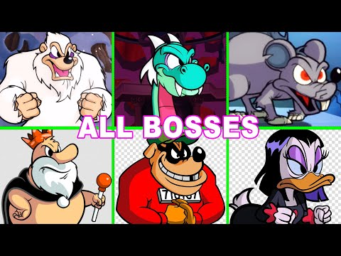 DuckTales Remastered All Bosses Fight (No Damage) and Ending
