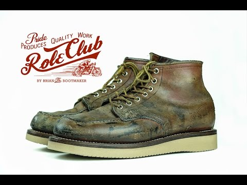 Red Wing  Moc Toe 875 Resole #3