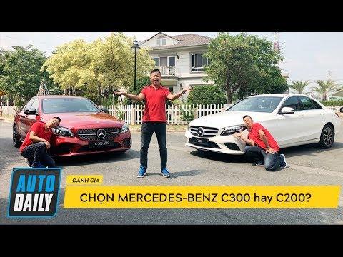 Đánh giá Mercedes-Benz C-Class 2019: Chọn C200 hay C300 AMG?  AUTODAILY.VN 