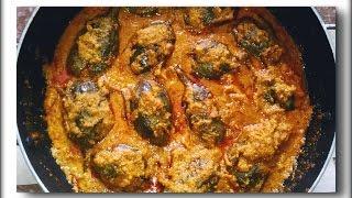 Maharashtrian Bharleli Vaangi English Subtitles | Stuffed Brinjal / Eggplant | Bharwan Baingan