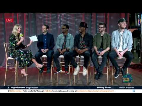 Notre Dame Day 2018 - HAMILTON CAST INTERVIEW