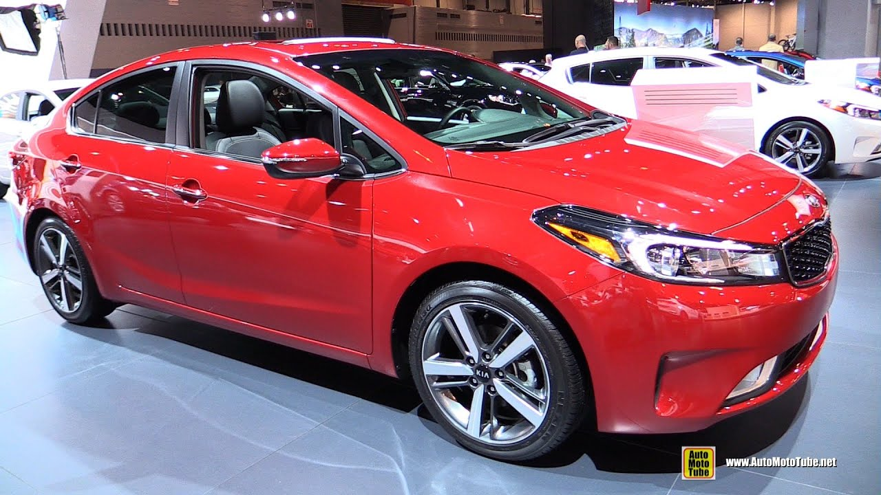 2017 Kia Forte Ex Gdi Exterior And Interior Walkaround 2016 Chicago Auto Show