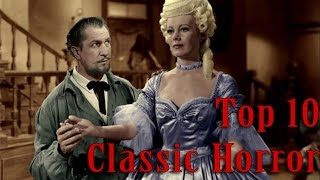 Top 10 Classic Horror Movies (Pre-1968)