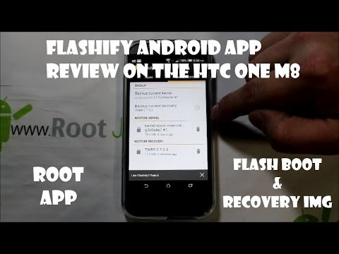 Flashify Root App For Bootloader Unlocked Android Devices HTC One M8