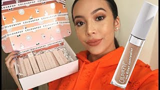 Video COLOURPOP NO FILTER CONCEALER DEMO + SWATCHES || ALL 15 SHADES || Monique Lynn download MP3, 3GP, MP4, WEBM, AVI, FLV November 2018