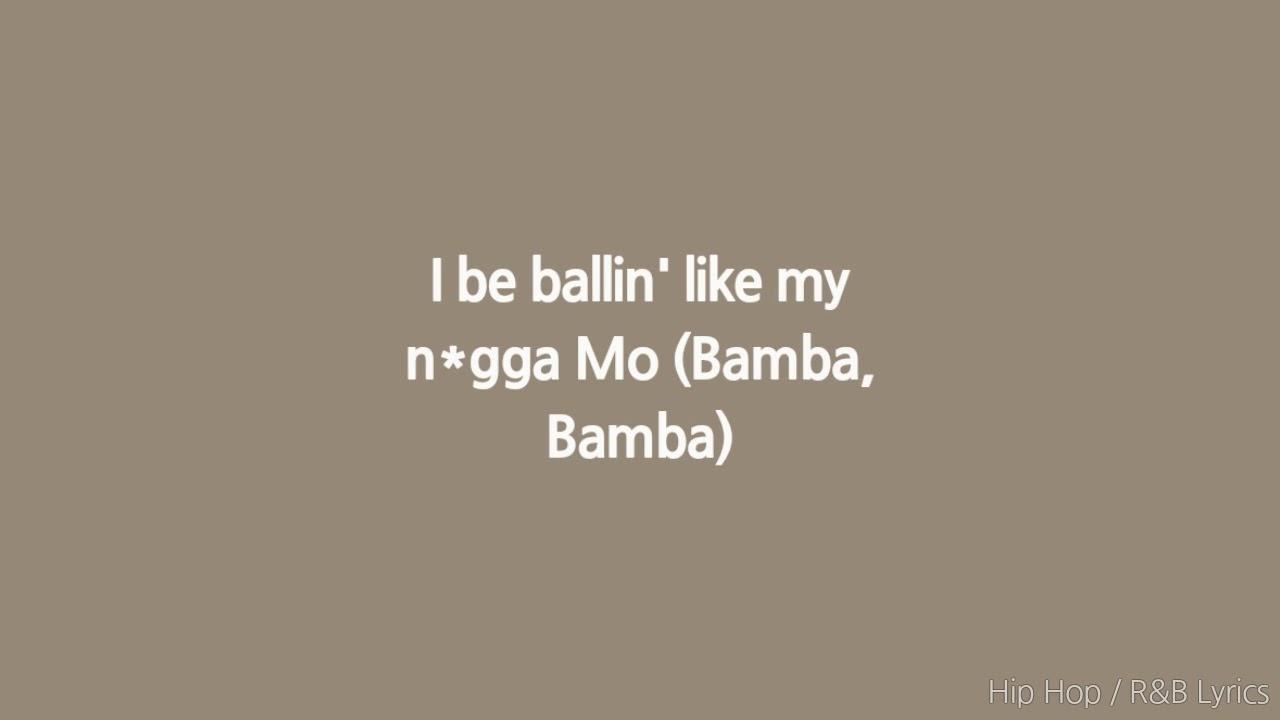 Sheck Wes - Mo Bamba (Lyrics)