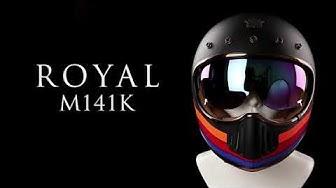 Review Nón Fullface Royal M141K Kính Âm | Classic Helmet | Nón Trùm